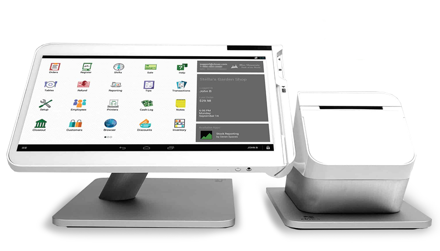 Clover Station POS System for business