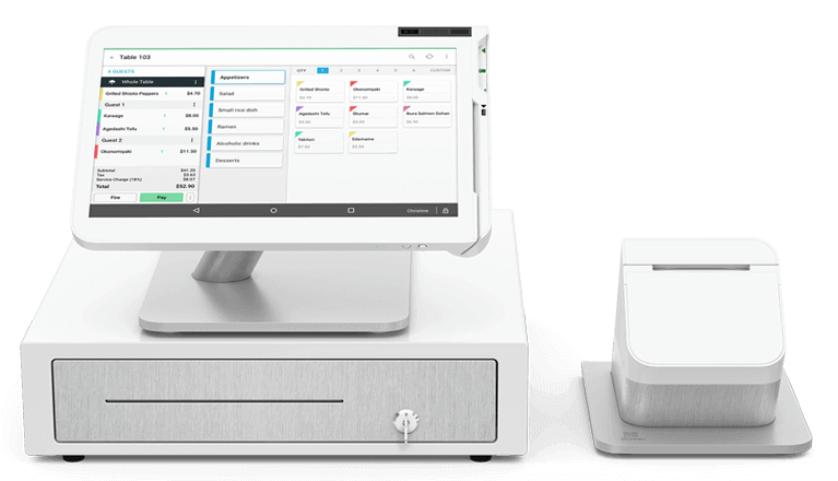 Clover Station POS System with cashdrawer by The TCP Store