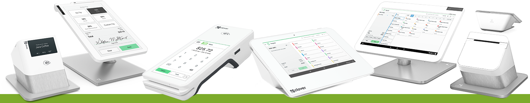 Clover Devices Credit Card Readers by The TCP STore